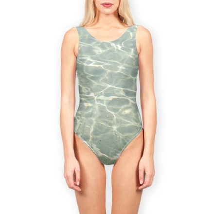 Water Print Ladies Swimsuit